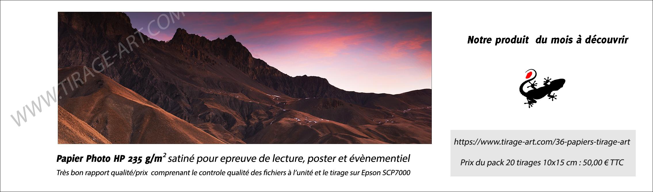 Papier photo HP 235 g/m²